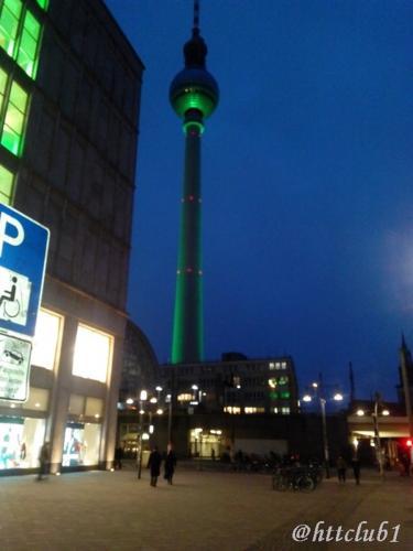 Berlin by night, Alexanderplatz
