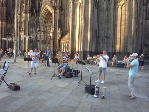 Cologne-street musician