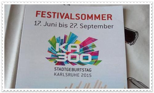 Karlsruher-Festivalsommer 2015, Blogtour