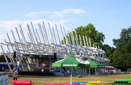 Karlsruher Schloss-Pavillon