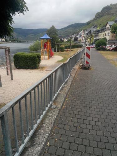 Mosel-Promenade- View from the Mosel Promenade