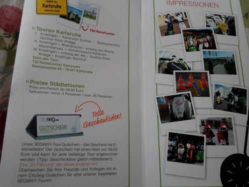 Touren Karlsruhe-Cityseg