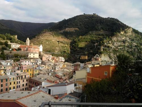 Vernazza - View from Castello Doria