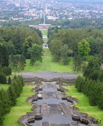 View from Wilhelmshoehe-Kassel, 2006